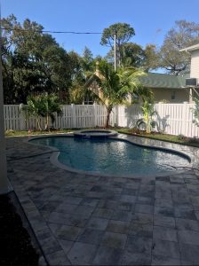 pool lanscape design & install