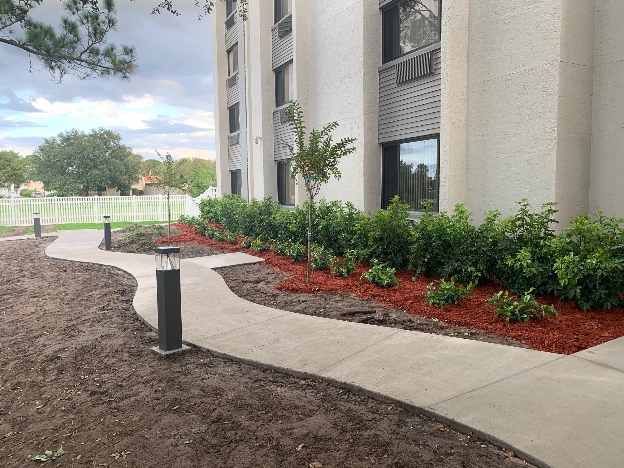 HOA landscaping project