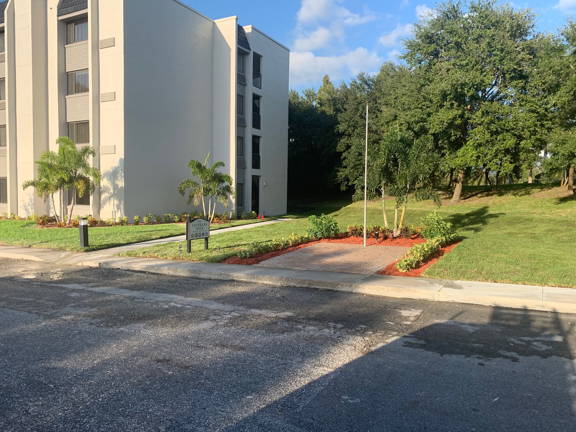 landscaping project for HOA