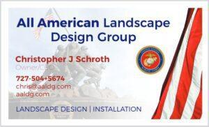 chris schroth's business card